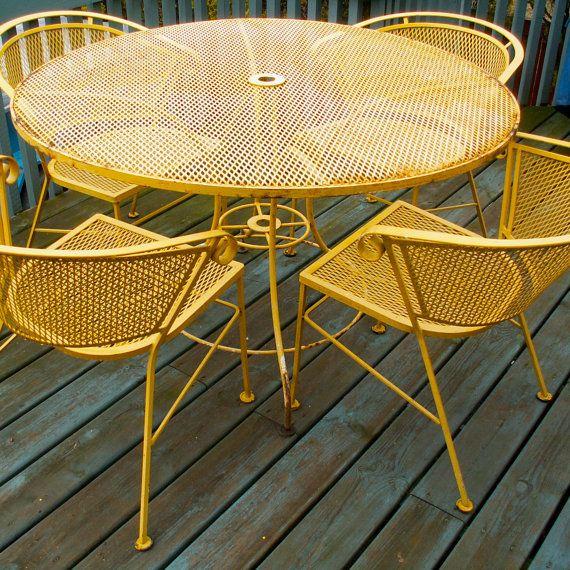 25 best ideas about vintage patio furniture on pinterest
