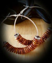 Beaded Hoop Earrings by SoSweetSoSassy on Etsy | SO SWEET ...