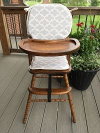 17 Best images about Wooden Baby High Chair Cover on ...