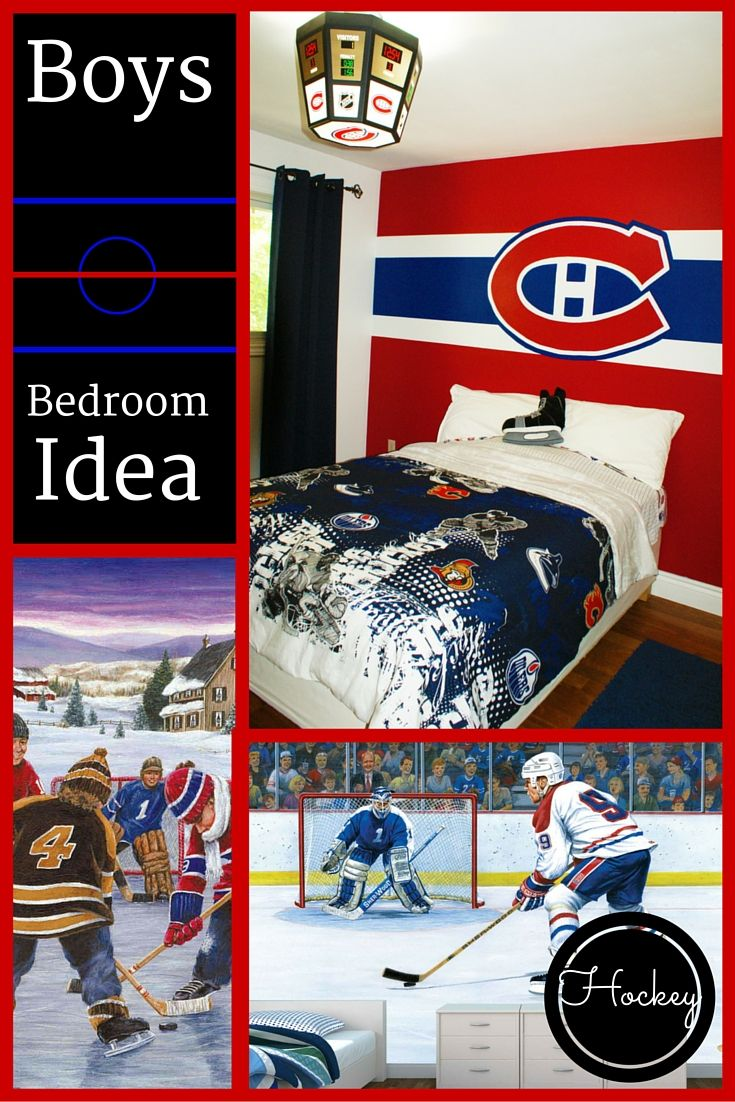 1000+ ideas about Boys Hockey Bedroom on Pinterest