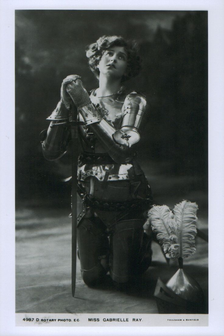 1920s joan of arc gabrielle ray