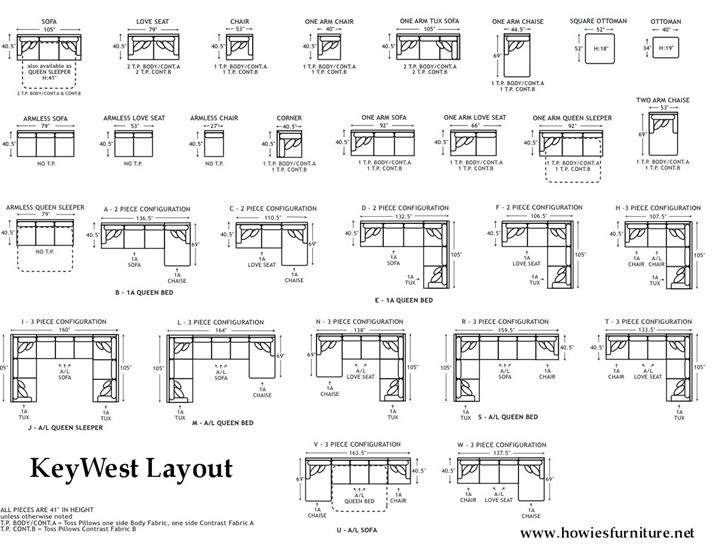 Sectional Sofas By Size Couch Sizes...layout-dimensions | Home | Pinterest | Sofa