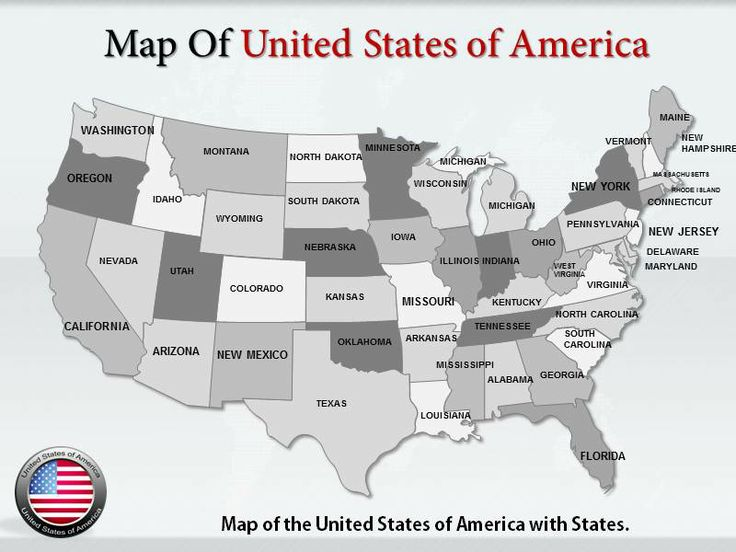 interactive map of usa powerpoint