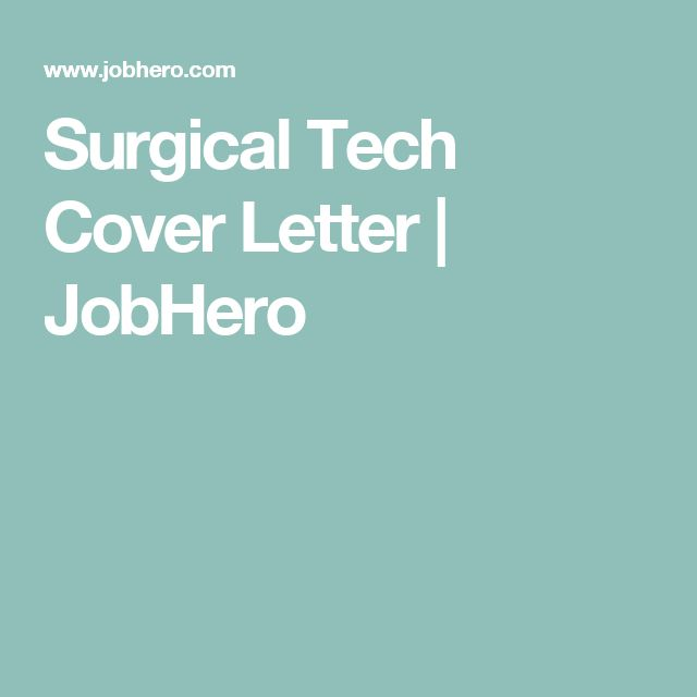 radiologic technologist cover letter