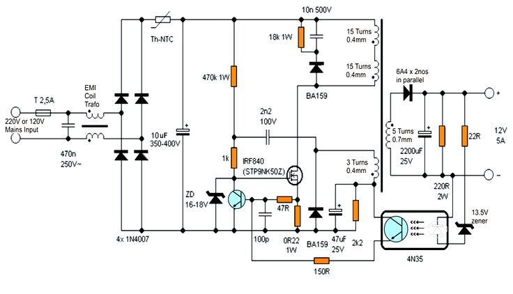 simple circuit diagrams of electronics projects