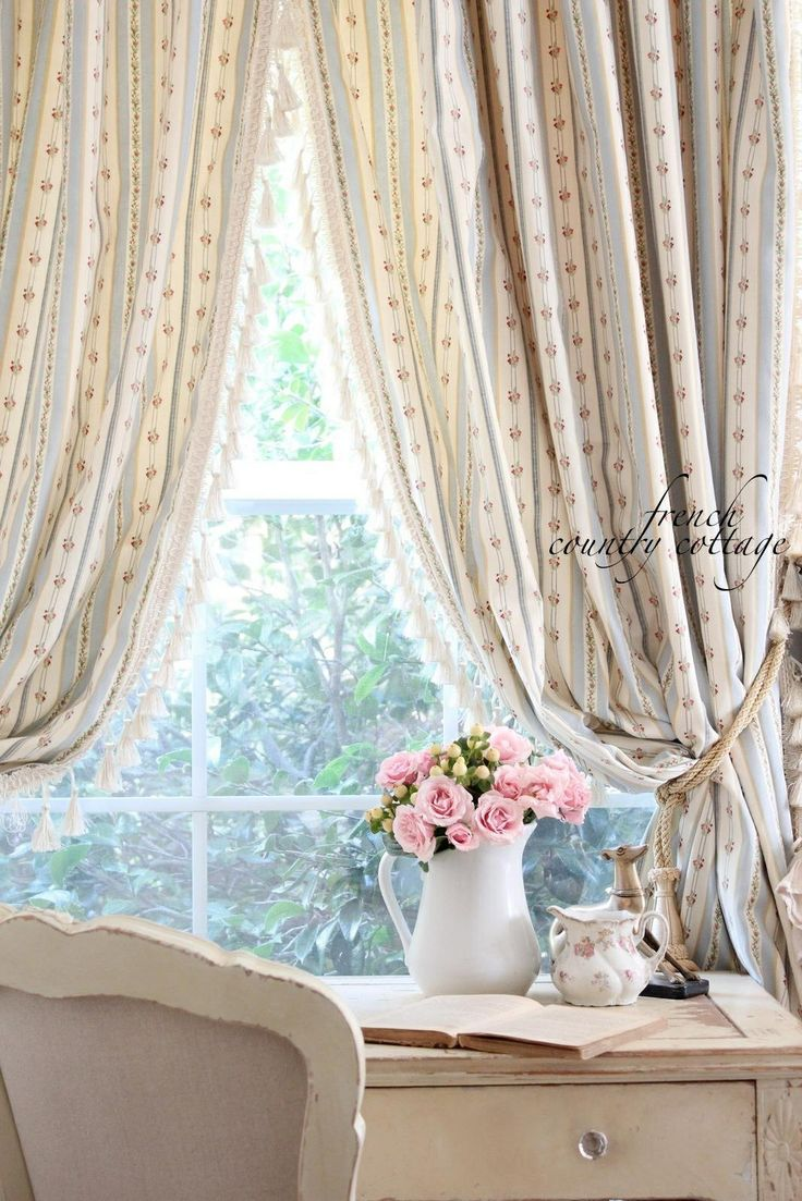 Gypsy shabby chic curtains shabby chic french country curtains
