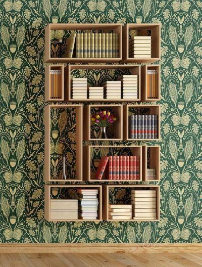 25+ best ideas about Bookshelves on Pinterest | Painted bookshelves, Bookshelves ikea and Living ...
