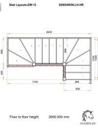 TRADESTAIRS-lh-double-winder-hr | Stairs | Pinterest ...