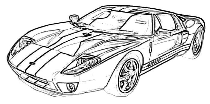 86 mustang coloring pages