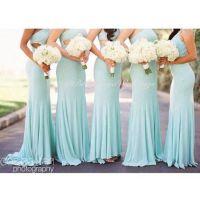 #mint #bridesmaids dresses light aqua dresses, cut outs ...