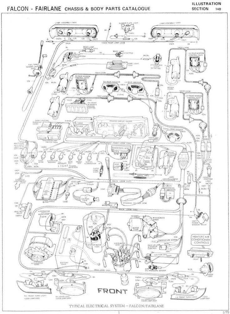 fg falcon ute wiring diagram