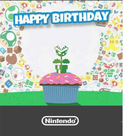 Iphone 8 Wallpaper Hd Piranha Plant Cupcake Pic From Nintendo Wishing Me Happy