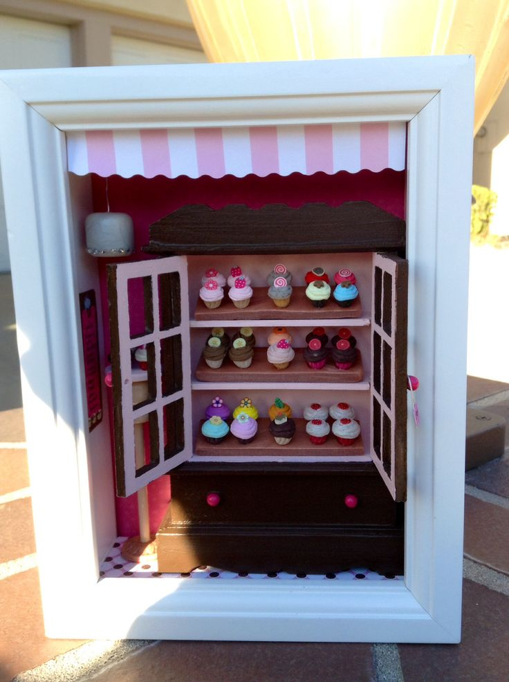1000 Images About Miniature Shadow Boxes On Pinterest