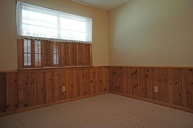 Buffet Or Sideboard Difference Knotty Pine Wainscoting | Basement Remodel | Pinterest