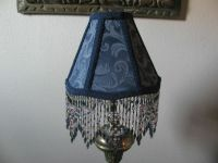 67 best images about Bead fringed lamps on Pinterest