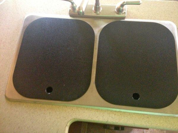 Rv Sink Covers Sink Covers In Black Rv Pinterest