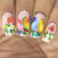 1000+ ideas about Bird Nail Art on Pinterest | Feather ...