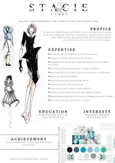 130 New Fashion Resume Cv Templates For Free Download 25 Best Ideas About Fashion Resume On Pinterest Fashion
