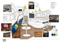 Coffee shop interior concept. | Church Ideas | Pinterest ...