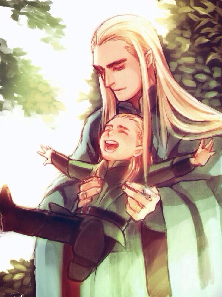 Lee Pace The Fall Wallpaper Giggling Little Legolas And His Doting Ada Thranduil