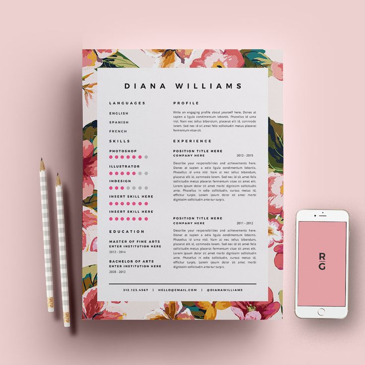 cv book design pinterest