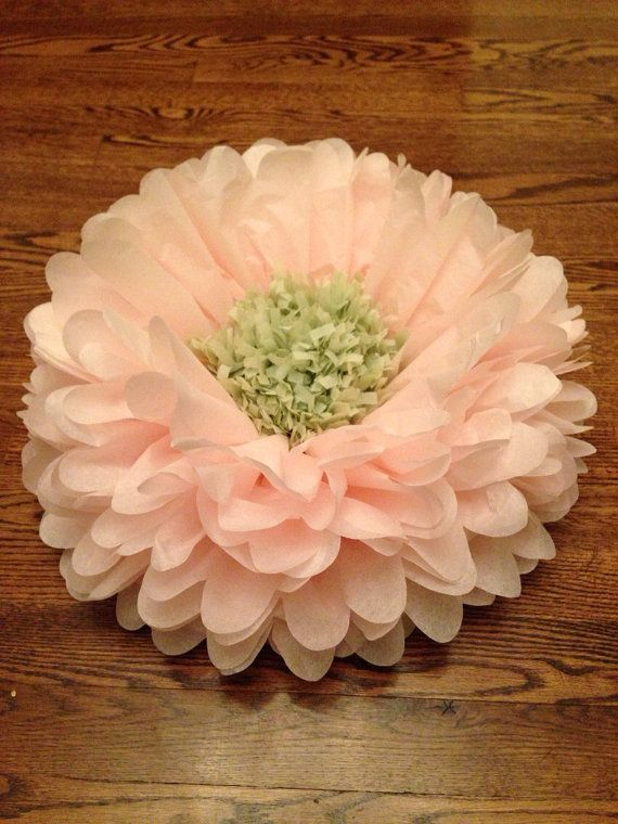 giant paper flower centerpieces