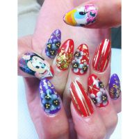 1000+ images about Character nail art on Pinterest ...