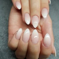 25+ best Almond Nails French ideas on Pinterest | Ombre ...