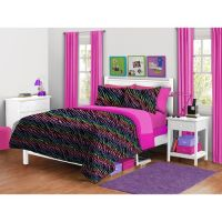 your zone zebra plush Reversible Comforter set | Shopping ...