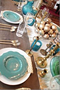 25+ best ideas about Teal Christmas on Pinterest | Teal ...
