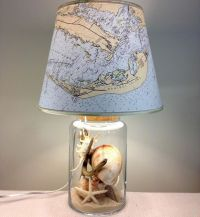 25+ best ideas about Shell Lamp on Pinterest   Fishing ...