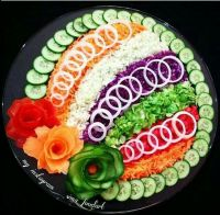 122 best images about vegetable decorations on Pinterest ...