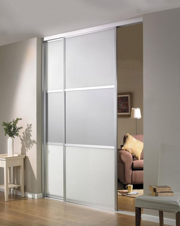 Sliding Room Dividers Ikea Frosted Glass, Sliding Doors And Coat Storage On Pinterest