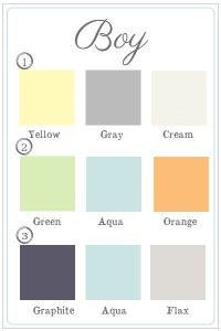 25+ Best Ideas about Boy Nursery Colors on Pinterest ...