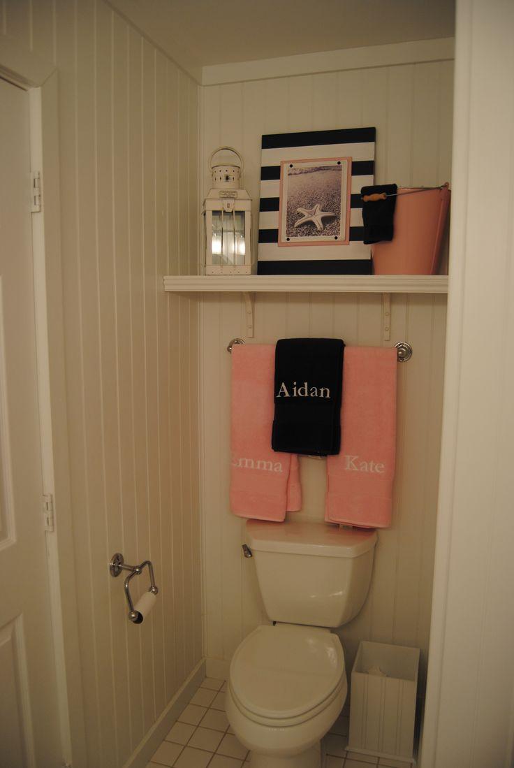 Nautical unisex kids bathroom