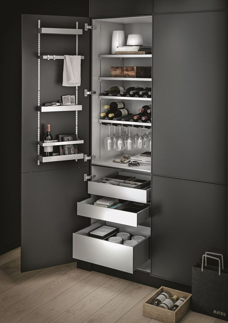 Küchen Panel Aluminium Kitchen Accessory Multimatic By Siematic