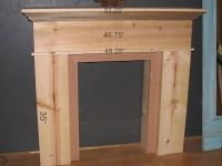 Diy Faux Fireplace Mantel Shelf - WoodWorking Projects & Plans