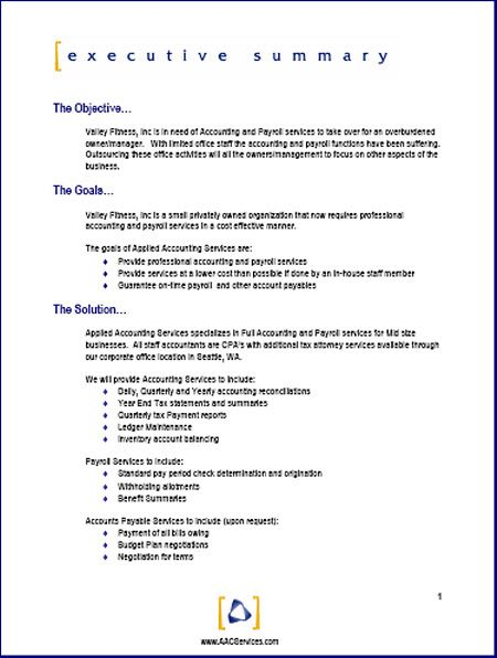 Marketing Business Proposal Letter Sample | Resume Guidelines For