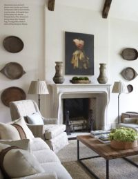 Jim Howard, living room, Veranda magazine