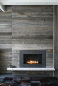 10 Fireplace Surrounds with Beautiful Wooden Wall Panels ...