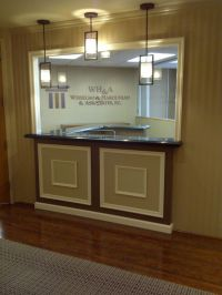 Customized Reception Law Office | Home Decor | Pinterest ...