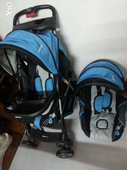 Infant Stroller Used Baby 1st 3in1 Stroller Carrier Car Seat For Sale