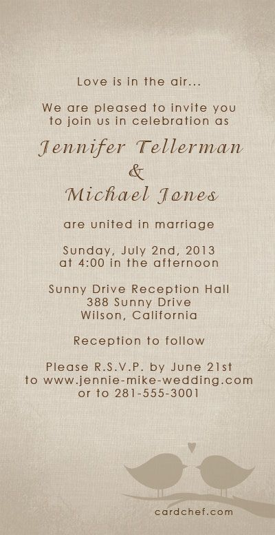 Wedding Invitation Font Ideas Desiree, Setting Up A An R.s.v.p. Website Is An