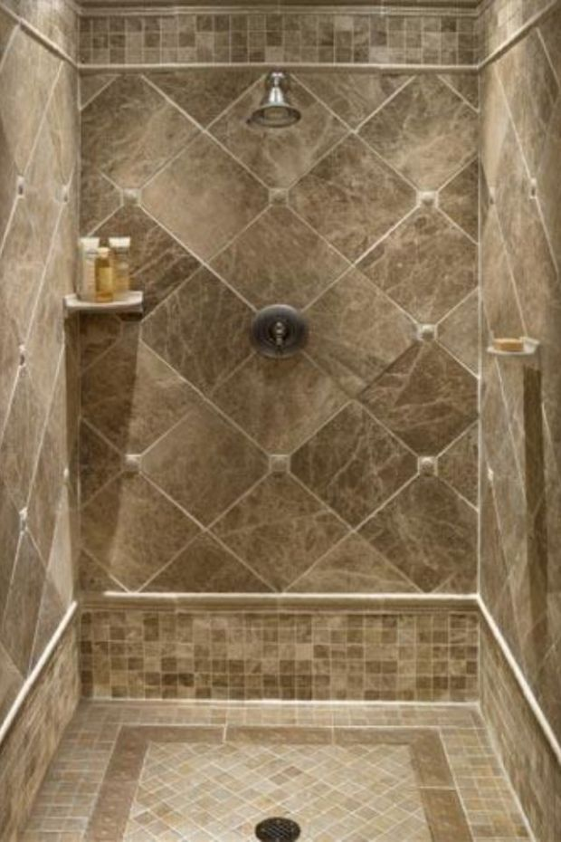 tile ideas downstairs shower