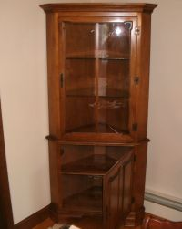 How To Build A Corner China Cabinet - WoodWorking Projects ...