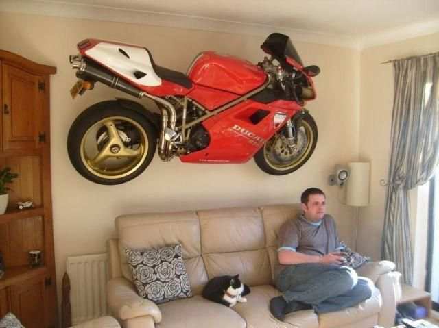 11 Best Images About Motorcycles In The Living Room On - Ducati Im Wohnzimmer