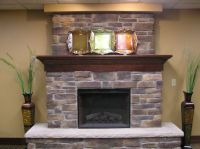 Wonderful Dark Brown Grey Wood Stone Unique Design ...