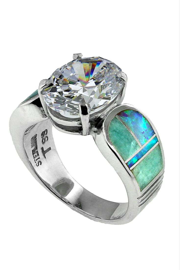 inlaid native american jewelry native american wedding bands Check out this amazing ring It is done by Native American designer David Rosales and