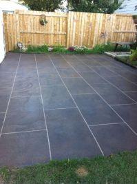 Back Patio Concrete Resurfacing Calgary | Decorative ...