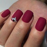 25+ best ideas about Red Matte Nails on Pinterest | Matt ...